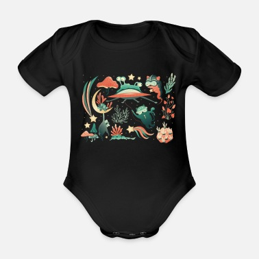 Animals animals - Organic Short-Sleeved Baby Bodysuit