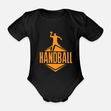 Ball Sport Ball sports team sport - Organic Short-Sleeved Baby Bodysuit