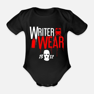 Wear Writer Wear - Vauvan lyhythihainen body