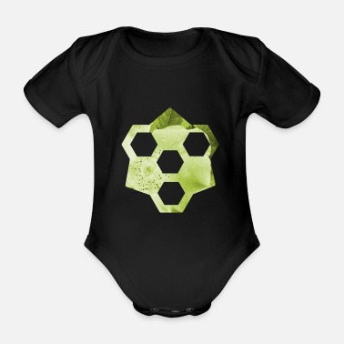 Design design - Organic Short-Sleeved Baby Bodysuit