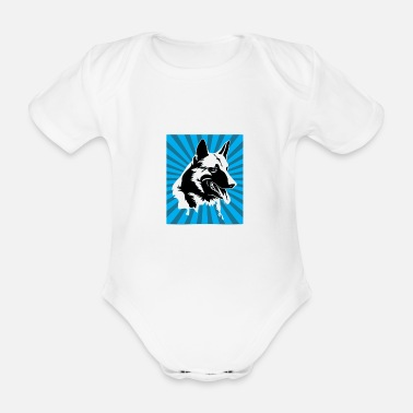Rescue Dog Rescue Dog Rescue Dog Squad Rescue Dogs - Organic Short-Sleeved Baby Bodysuit