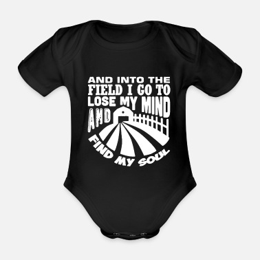 Field Field - Organic Short-Sleeved Baby Bodysuit