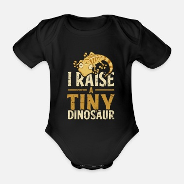 Gecko Pet - Organic Short-Sleeved Baby Bodysuit