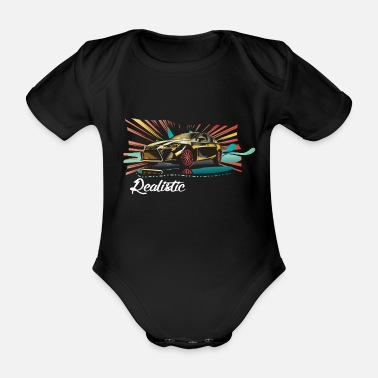 Concept Realistic Car Concept - Organic Short-Sleeved Baby Bodysuit