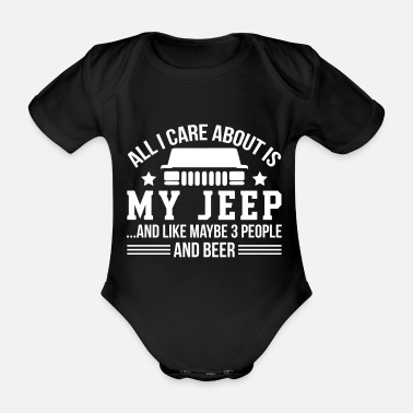Us My Jeep And Beer - Baby Bio-Kurzarm-Body