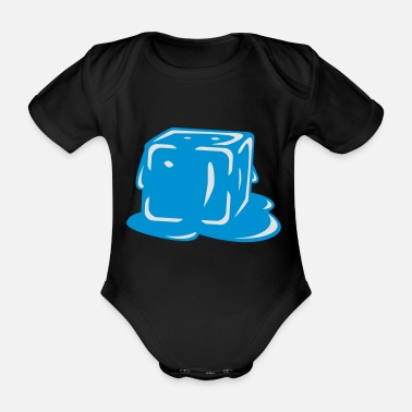 Melt Melting - Organic Short-Sleeved Baby Bodysuit