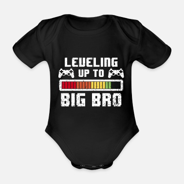 Up Leveling up to big Brother - Gamer großer Bruder - Vauvan lyhythihainen body