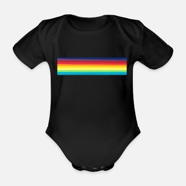 Colour colours - Organic Short-Sleeved Baby Bodysuit