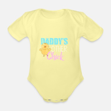 Children children - Organic Short-Sleeved Baby Bodysuit
