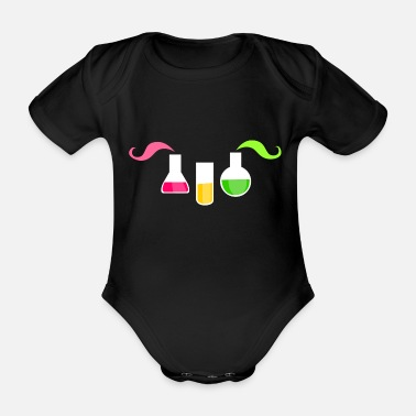 Two Thousand And Twelve Chemist - Organic Short-Sleeved Baby Bodysuit