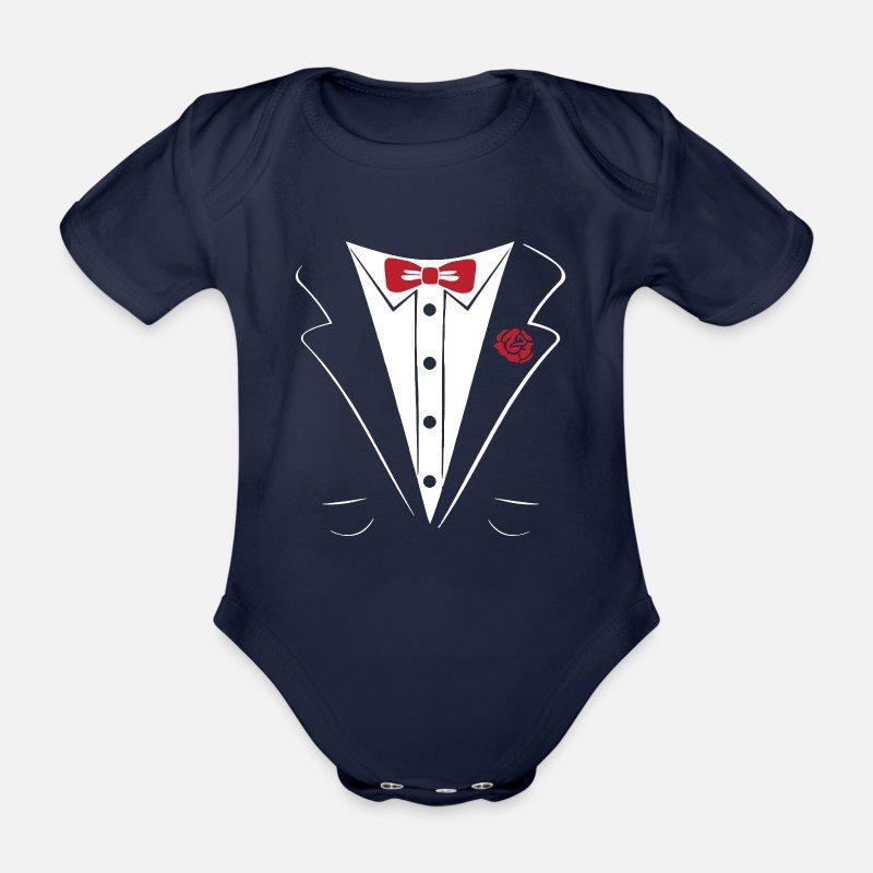 Tuxedo Pak Shirt MouwenSpreadshirt Rompertje Met Korte rCoeWQdxBE