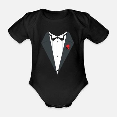 Occasion Cheap suit for the special occasion - Organic Short-Sleeved Baby Bodysuit