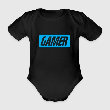 Video Video game - Organic Short-sleeved Baby Bodysuit