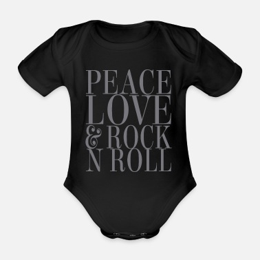 Rock N Roll Rock and Roll Love - Body bébé bio manches courtes