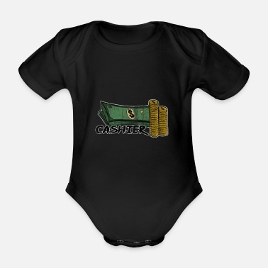 Checkout Checkout Sale Service Cash Gift - Organic Short-Sleeved Baby Bodysuit