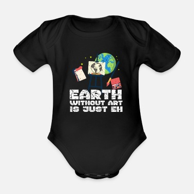 Artist Artists - Organic Short-Sleeved Baby Bodysuit