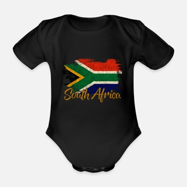 Landscape South Africa - Organic Short-sleeved Baby Bodysuit