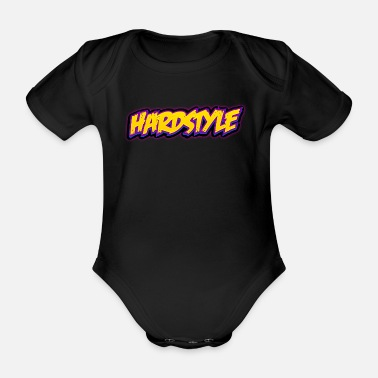 Jumpstyle Hardstyle / Rave / Jumpstyle - Body ecologico per neonato a manica corta