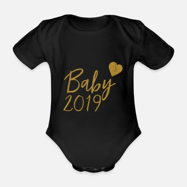 Series Baby 2019 - Gold Series - Organic Short-sleeved Baby Bodysuit