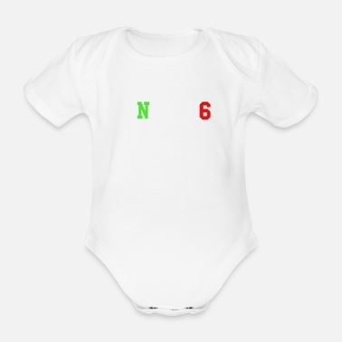 Circuit Motorcycle circuit - Organic Short-Sleeved Baby Bodysuit