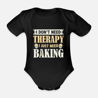 Pizza Cooking baking baker cook gift gift idea - Organic Short-Sleeved Baby Bodysuit