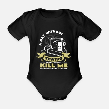 Sewing Machine sewing machine - Organic Short-Sleeved Baby Bodysuit