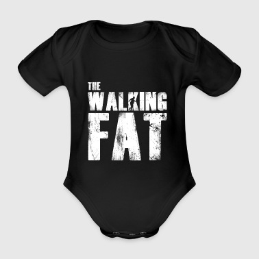 Fat fat gift for fat - Organic Short-sleeved Baby Bodysuit