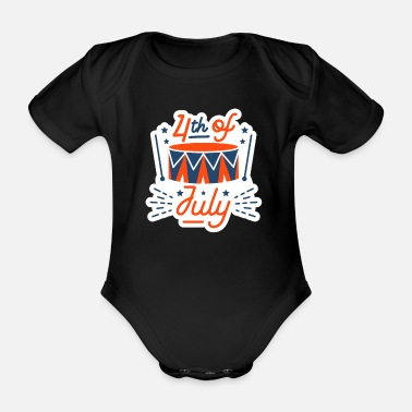 Veterans Day 4th ofJuly - Baby Bio Kurzarmbody