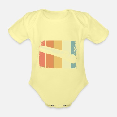 Smoker smoker - Organic Short-Sleeved Baby Bodysuit
