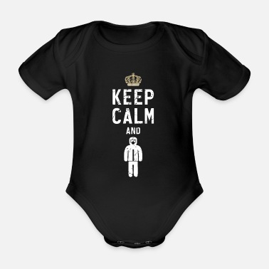 Gas Chemist biologist radiation protection gas mask gift - Organic Short-Sleeved Baby Bodysuit