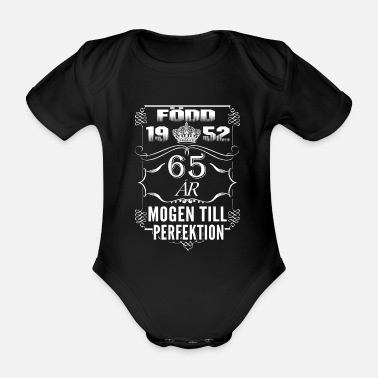 Age 1952-65 years perfection - 2017 - SE - Organic Short-Sleeved Baby Bodysuit