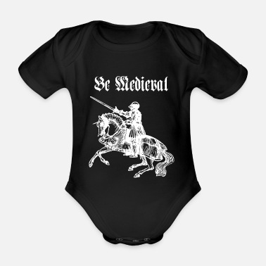 Medieval Be Medieval - Organic Short-sleeved Baby Bodysuit