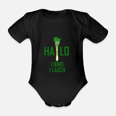 Vegetable vegetables - Organic Short-Sleeved Baby Bodysuit
