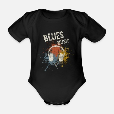 Blues Blues - Baby Bio Kurzarmbody