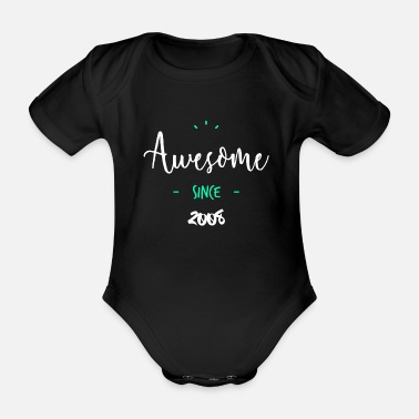 Since Awesome since 2008 - - Body bébé bio manches courtes