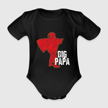 Santa Claus Big Daddy - Organic Short-sleeved Baby Bodysuit