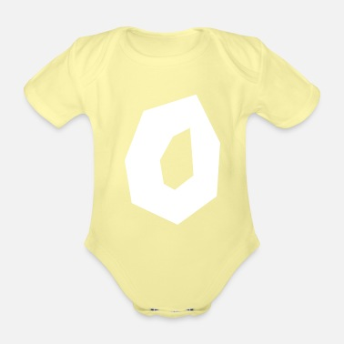 Polygon polygon - Organic Short-Sleeved Baby Bodysuit