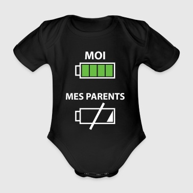 Parents Moi, mes parents - Body bébé bio manches courtes