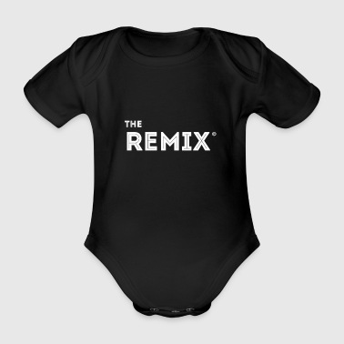 Remix Music Team mit Original typo partnerlook kid - Baby Bio-Kurzarm-Body