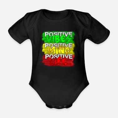 Positive POSITIVE - Organic Short-Sleeved Baby Bodysuit