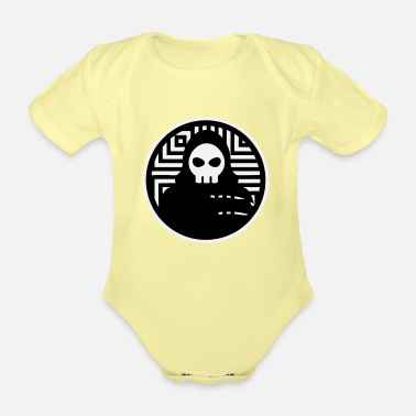 Bone Grim Reaper is waiting for you too - Death - Organic Short-Sleeved Baby Bodysuit