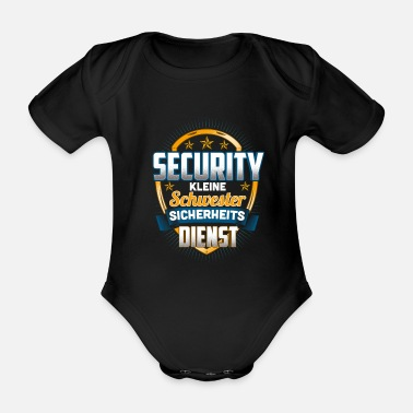 Service Security sister security service - Organic Short-Sleeved Baby Bodysuit