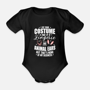 Jack Underwear Halloween Sexy Ears Underwear Costume Gifts - Organic Short-Sleeved Baby Bodysuit