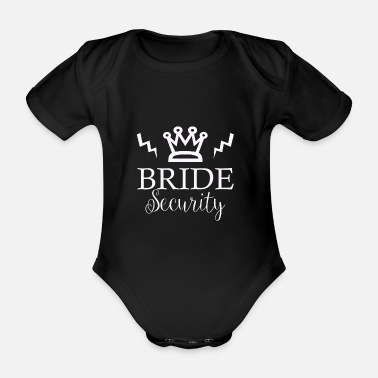 Love Wife Wedding Marriage Marrying Love Love Wife - Organic Short-Sleeved Baby Bodysuit