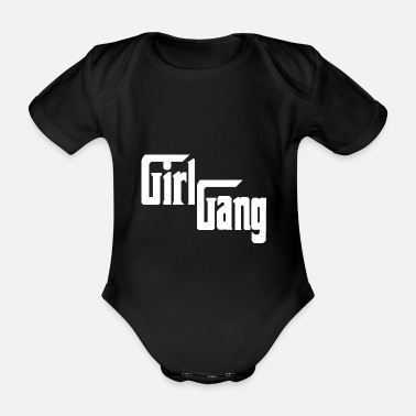 Gang Girl Gang - Partnerlook T-shirt Gift - Rompertje met korte mouwen