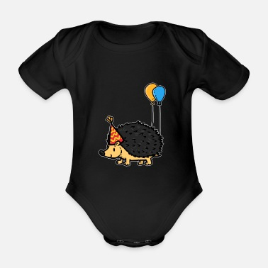 Feast Day Birthday Party Gift Celebration Funny Holiday - Organic Short-Sleeved Baby Bodysuit