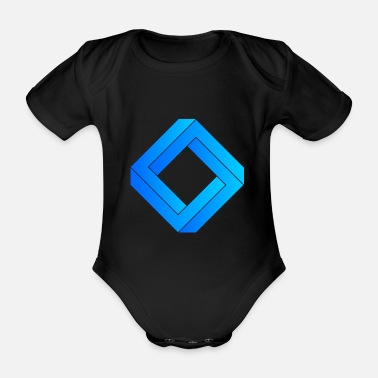 3d 3D - Organic Short-Sleeved Baby Bodysuit