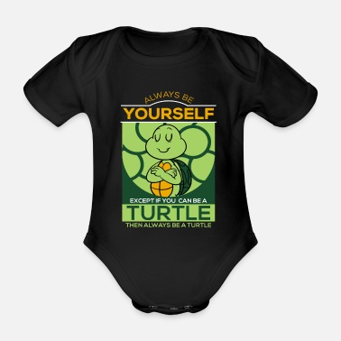 Tortues Tortue, tortues, tortues T-shirt - Body bébé bio manches courtes