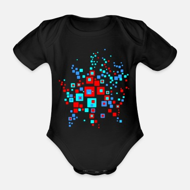 Graphic graphic - Organic Short-Sleeved Baby Bodysuit
