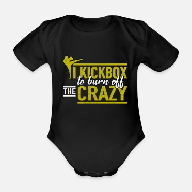 Kicker Kick-Boxing Kick-Boxing - Body Bébé bio manches courtes